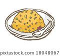 熟飯 炒飯 食物 18048067