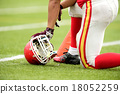 選手 美式足球 足球 18052259