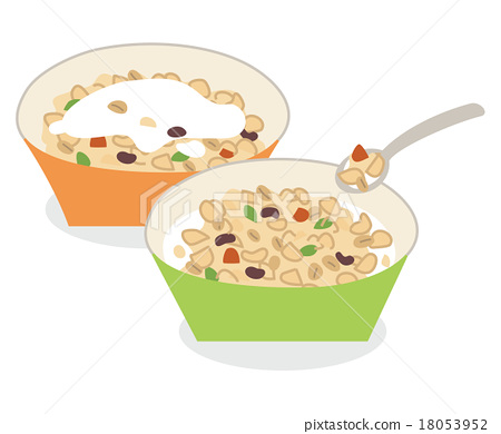 早餐 穀物 玉米片 18053952