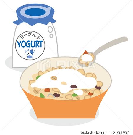 早餐 穀物 玉米片 18053954