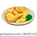 真實 插畫 雞肉 18056130