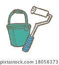 roller, rollers, bucket 18056373