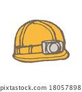 頭盔 安全帽 手繪 18057898