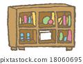 架子 貨架 家具 18060695