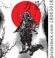 Vector from Japan Culture - Samurai, Shogun 18063018