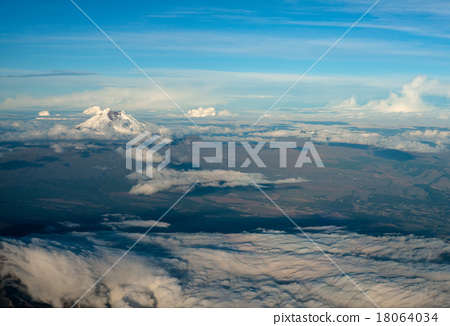 Cotopaxi the highest active volcano in the world 18064034