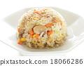 炒飯 熟飯 中餐 18066286