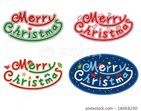聖誕快樂標誌_ 01 18068290