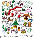 塗鴉_聖誕節_白色 18074641