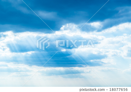 sky, blue sky, cloud 18077656