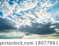 天空 藍天 雲彩 18077661