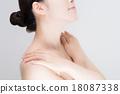 女性皮膚 18087338