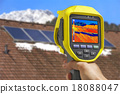 Recording Solar Panels with Thermal Camera 18088047
