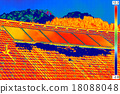 Thermovision image of Photovoltaic Solar Panels 18088048