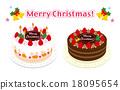 圣诞蛋糕 圣诞节 耶诞 18095654