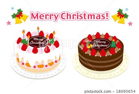 聖誕蛋糕 聖誕季節 聖誕節期 18095654