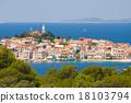 Town Primosten in Croatia 18103794
