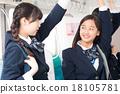 student, coversation, school commute 18105781