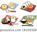 早餐 矢量 午餐 18109366