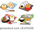 食物 插畫 早餐 18109366