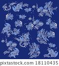魚 鯉魚 錦鯉 18110435
