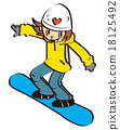 snowboard, snowboarding, sport 18125492