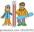 snowboard, snowboarding, heterosexual 18126762