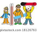 snowboard, snowboarding, sport 18126763