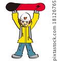 snowboard, snowboarding, sport 18126765