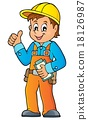 Construction worker theme image 3 18126987