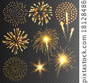 firework, fire, vector 18128486