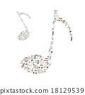 music note icons set like big music note eps10 18129539