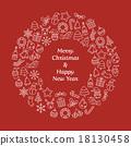 크리스마스, 성탄절, 화환 18130458