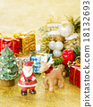 聖誕老人 聖誕老公公 馴鹿 18132693