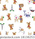 手繪 樣式 動物 18136253