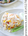 Fried rice with big shrimps, Thai food 18143278
