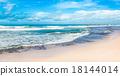 The Indian ocean. Panorama 18144014