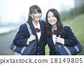 放學後的女學生 18149805