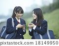นักเรียนมัธยมปลาย,2คน,เพื่อนดี 18149950