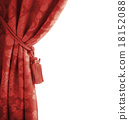 decoration red curtain 18152088
