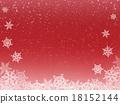 雪 下雪的 雪花 18152144