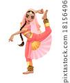Indian dancer 18156496