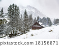 Winter in the mountains 18156871
