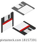 floppy, icon, disc 18157391
