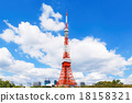 푸른, 하늘, 구름 18158321
