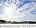 風景 建築工地 雲 18158759