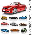 Car Vehicle Transportation 3D Illustration Concept 18162699