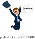 friday, happy, jumping 18171408