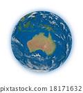 Australia on planet Earth 18171632