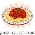 肉醬 真實 意大利面 18174507